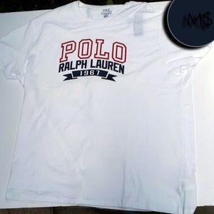 Ralph Lauren Polo 1967 Tee Red/White/Blue NWT XL